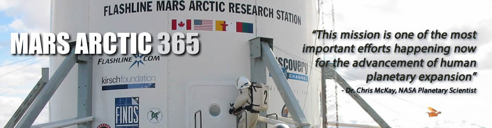 Mars Arctic 365 | a Mars Society Mission on Devon Island
